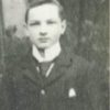 Robert Armstrong as a young man on his way to America